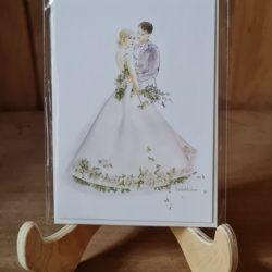 Hochzeit in einem Traumkleid