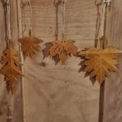 Edelrost Blätter