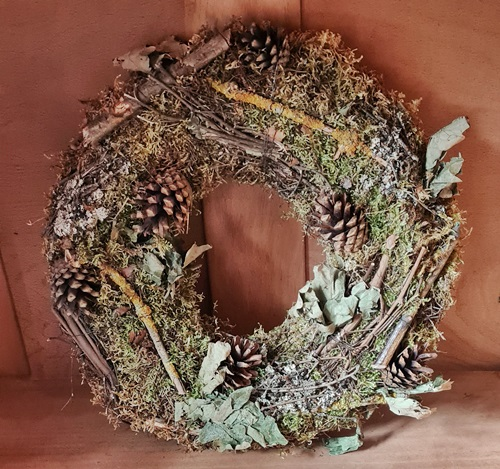 Toller Kranz - alles Natur