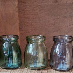 3 Deko-Gläser