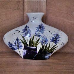 Vase Bauchig Lavendel