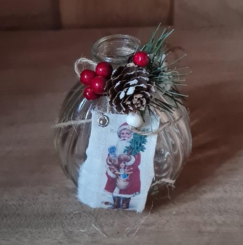 Weihnachts-Vase