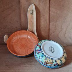 bunte DIP-Schale aus Keramik