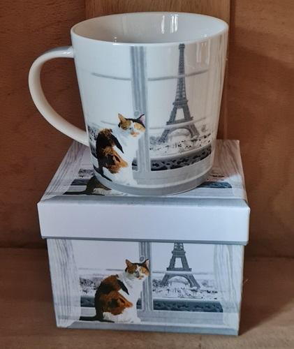 Eine Katze in Paris