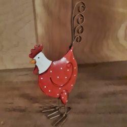 Huhn aus Metall