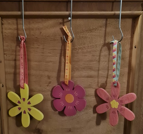 Holz-Hänger-Blumen