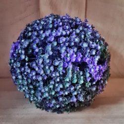 Kunst-Blumenkugel