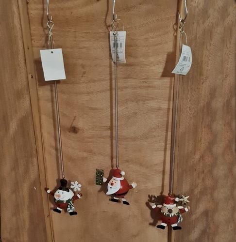 Weihnachten-Spiralhänger