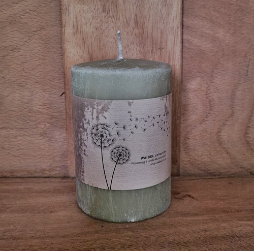Kerze - Antik-Olive