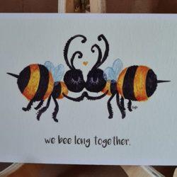 Bienen-Karte