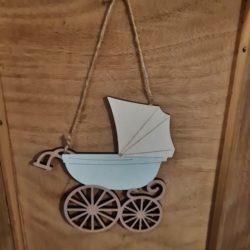 Deko-Kinderwagen