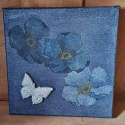 Blaue Schönheit, Handmade DIY