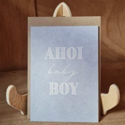 keitcards Ahoi baby Boy