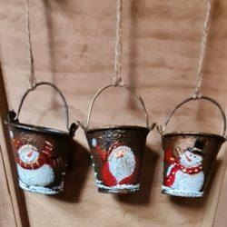 kleine Weihnachts-Eimer