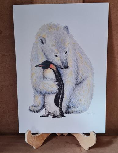 Eisbär u. Pinguin
