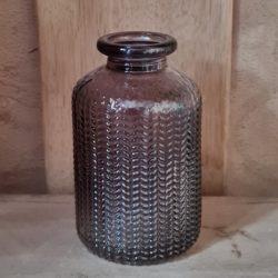 Gals,Vase,Flasche Fischgrät-Optik