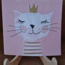 Katzen-Queen Serviette