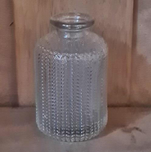 kleine Glasvase genoppt