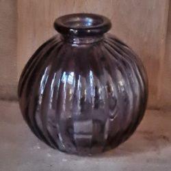 kleine runde glasvase