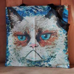 Grummel Katze Tasche