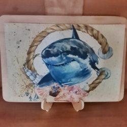 Tischset Hai