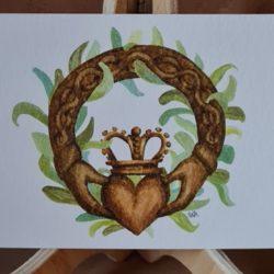 Herz u. Krone,Karte