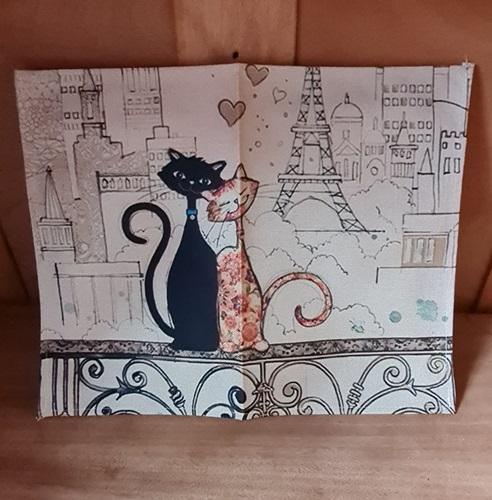 Katzen-Liebe in Paris