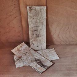 kleine Birkenplatten für Deko