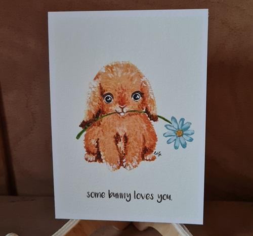 Ich hab dich lieb-Karte