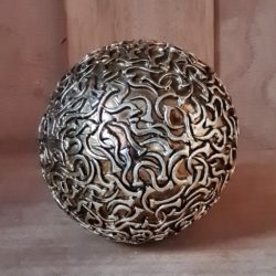 Dekokugel,antik-gold
