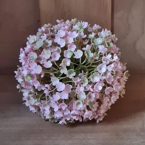 künstliche blütenkugel rosa