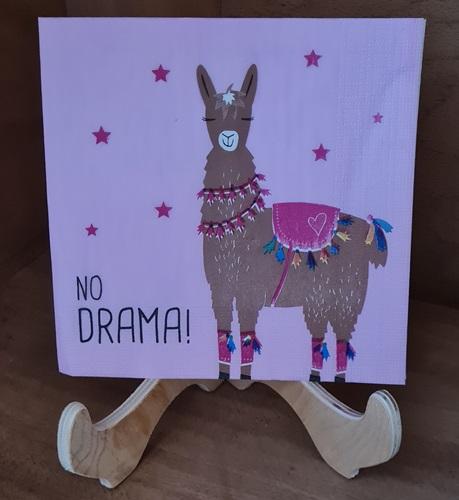 No Drama Lama Servietten