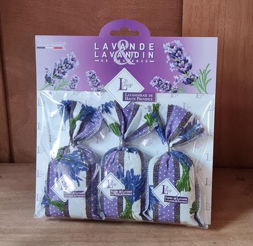 3 Sachets Lavendel