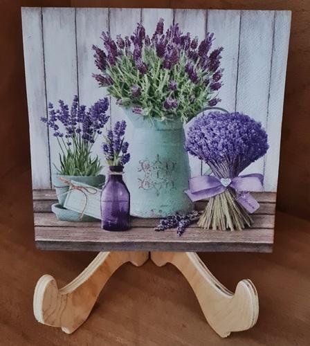 Lavendel Serviette