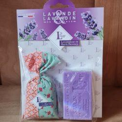 Lavendel-Sachet Lavendelseife