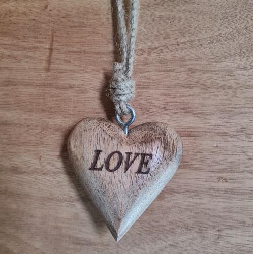 Love Liebe Holzherz