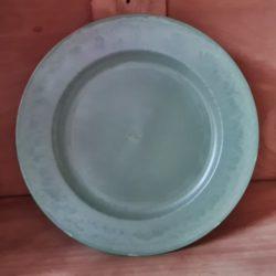 Deko-Teller aus Kunststoff