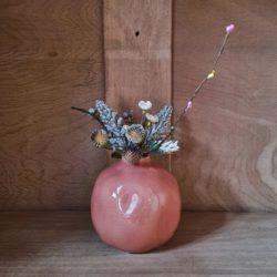 runde Blumenvase