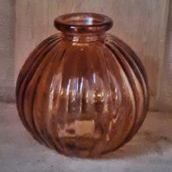 vase rund gerillt