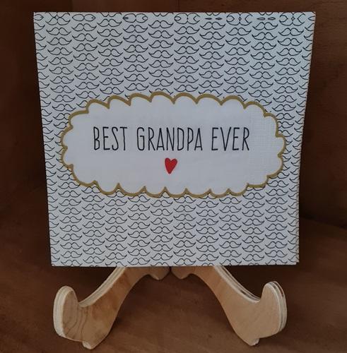 Grandpa ever Serviette