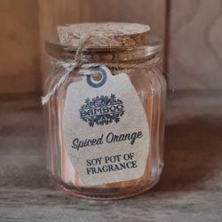 Soja-Kerze-Gewürz-Orange-Duft