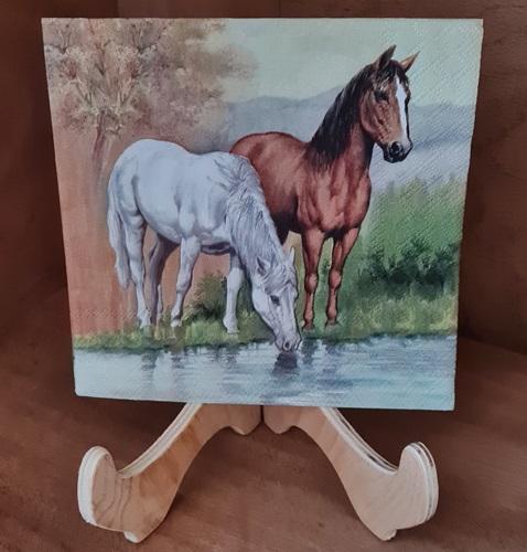 Horses Pferde Servietten