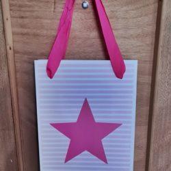 Geschenktüte-Stern-pink