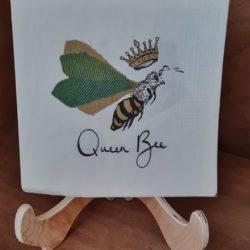 Bienenkönigin Serviette