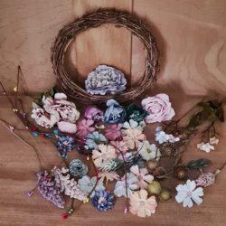 florale Basteltüte