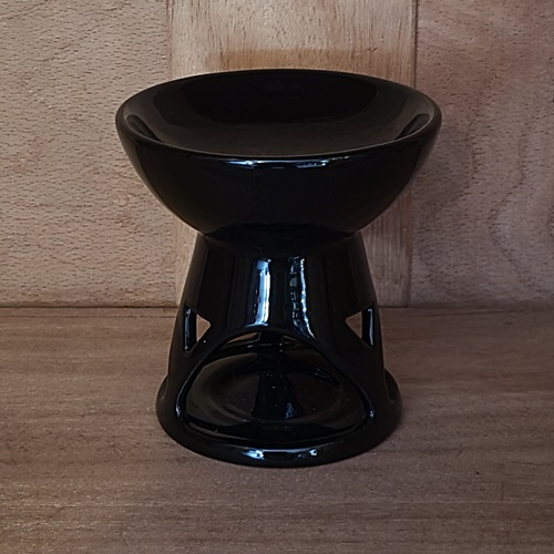 Duftlampe schwarz