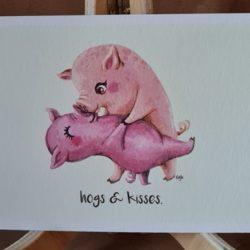 Kiss me,Piggy