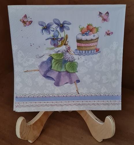 Tortenfee Serviette