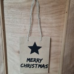 Papiertüte Weihnachten