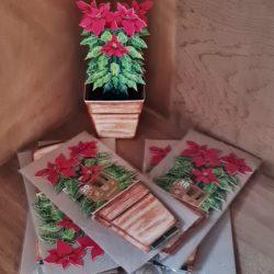 3D-Karte, Weihnachtsstern